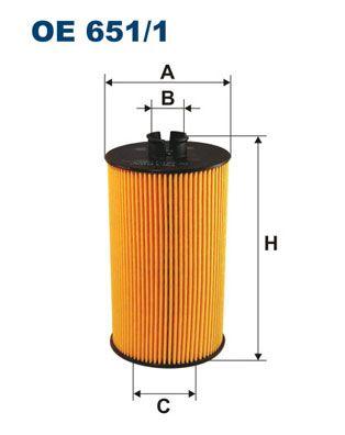Filter pracovnej hydrauliky FILTRON OP 592 OP 592