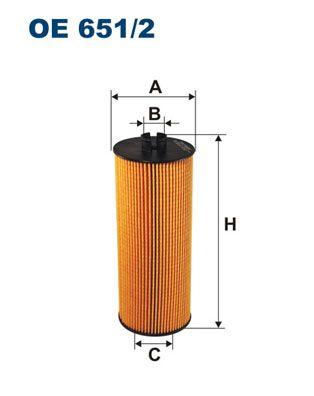 Olejový filter FILTRON OP 533 OP 533