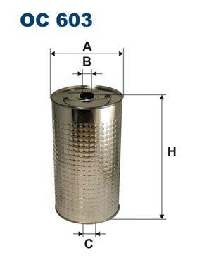 Filter pracovnej hydrauliky FILTRON OM 514/2 OM 514/2