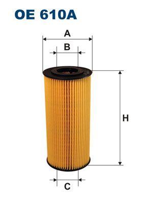 Filter pracovnej hydrauliky FILTRON OP 549 OP 549