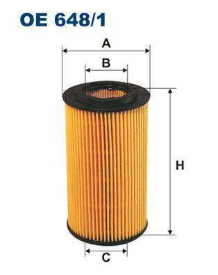 Filter pracovnej hydrauliky FILTRON OP 563 OP 563