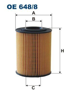 Filter pracovnej hydrauliky FILTRON OP 576 OP 576