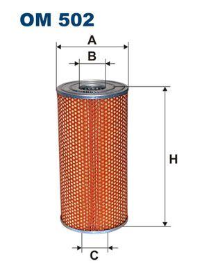 Olejový filter FILTRON OP 617 OP 617