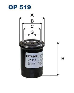 Palivový filter FILTRON PM 808 PM 808