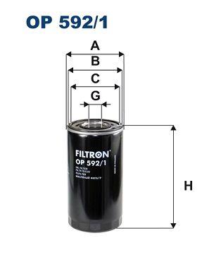 Palivový filter FILTRON PP 845/2 PP 845/2
