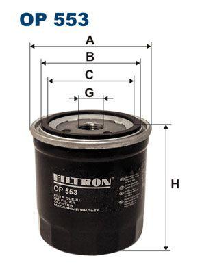 Palivový filter FILTRON PP 831 PP 831