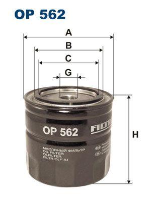 Palivový filter FILTRON PP 834 PP 834