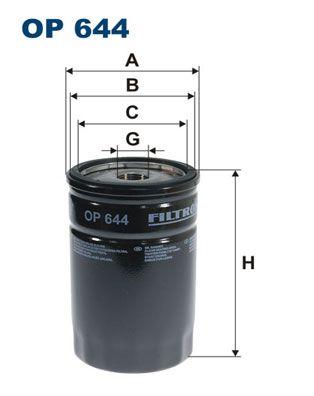 Palivový filter FILTRON PP 839/6 PP 839/6