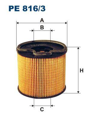 Palivový filter FILTRON PP 850/2 PP 850/2