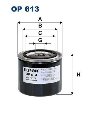 Palivový filter FILTRON PP 852 PP 852