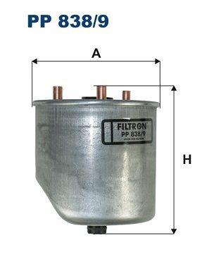 Palivový filter FILTRON PW 813 PW 813