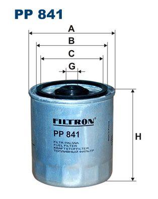 Palivový filter FILTRON PW 809 PW 809