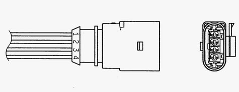 Lambda sonda NGK 0048 0048