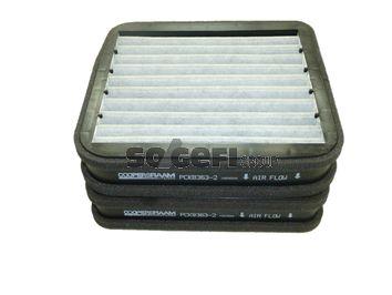 Filter vnútorného priestoru CoopersFiaam PCK8363-2 PCK8363-2