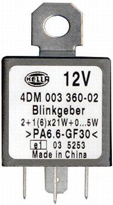 Prerużovač smerových svetiel HELLA 4DM 003 360-021 4DM 003 360-021