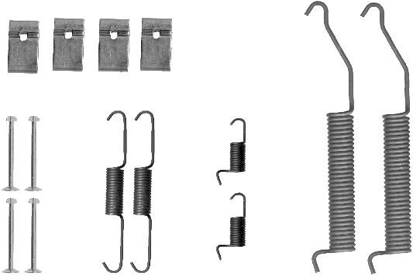 Chladič motora HELLA 8MK 376 712-604 8MK 376 712-604
