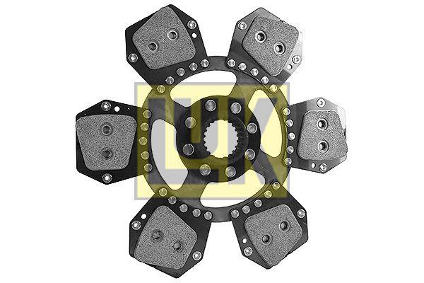 Centrálna vysúvacia páka spojky LuK 510 0250 10 510 0250 10