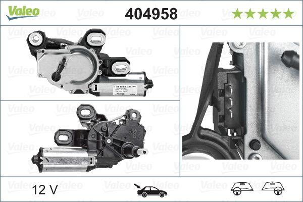 Motor stieračov VALEO 404958 404958