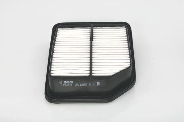 Vzduchový filter BOSCH F 026 400 125 F 026 400 125