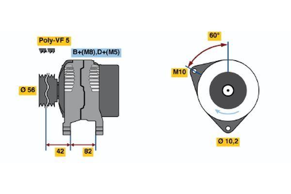 Vstrekovací ventil BOSCH 0 280 156 065 0 280 156 065