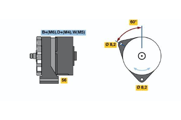 Regulátor tlaku paliva BOSCH 0 280 160 562 0 280 160 562