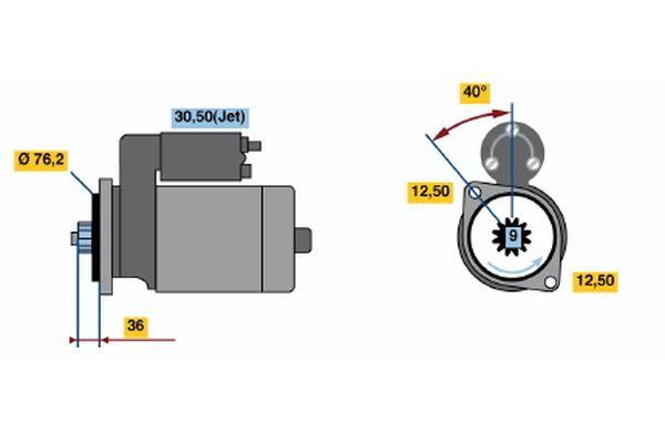 Senzor tlaku paliva BOSCH 0 261 230 474 0 261 230 474