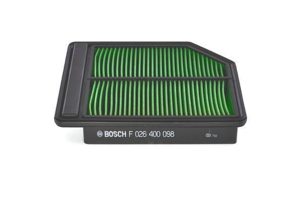 Vzduchový filter BOSCH F 026 400 098 F 026 400 098