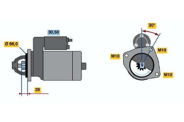 Odvetrávací ventil palivovej nádrże BOSCH 0 280 142 431 0 280 142 431
