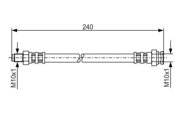 Snímač impulzov kľukového hriadeľa BOSCH 0 261 210 215 0 261 210 215