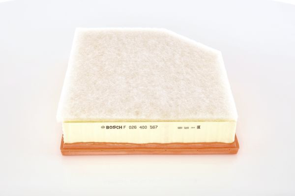 Vzduchový filter BOSCH F 026 400 567 F 026 400 567