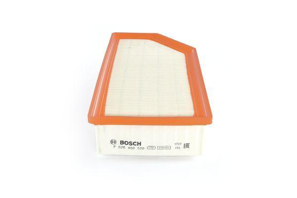 Vzduchový filter BOSCH F 026 400 520 F 026 400 520