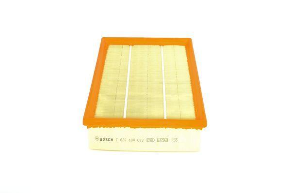 Vzduchový filter BOSCH F 026 400 033 F 026 400 033