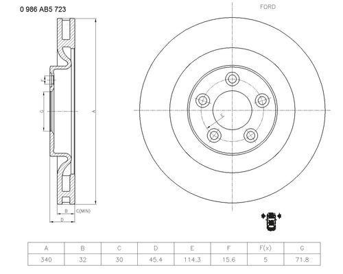 Vstrekovací ventil BOSCH 0 280 155 809 0 280 155 809