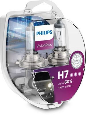 Philips VisionPlus 12972VPS2 H7 PX26d 12V 55W 12972VPS2