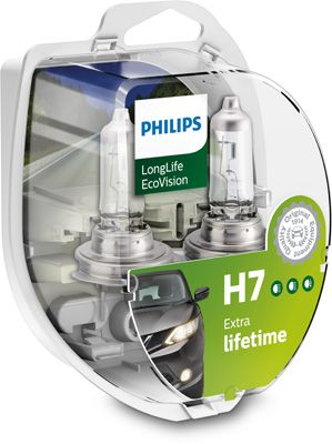 Philips LongLife EcoVision H7 PX26d 12V 55W 2ks 12972LLECOS2