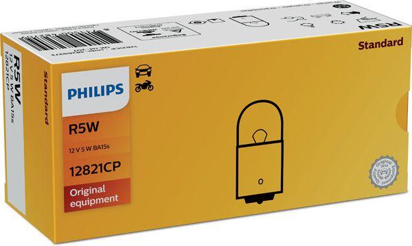 PHILIPS 12V 5W BA 15S 12821CP 12821CP