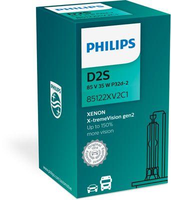 Philips xenónová výbojka D2S 85V 35W X-tremeVision gen.2-85122XV2C1 85122XV2C1