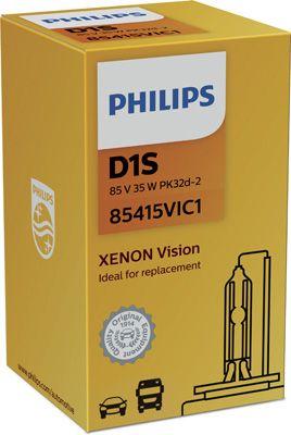 PHILIPS XENÓNOVÁ VÝBOJKA D1S 35W VISION-85415VIC1 85415VIC1