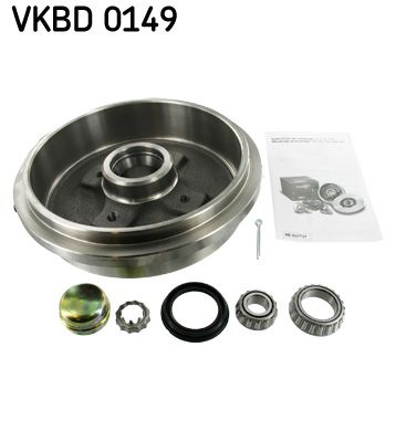 Brzdový bubon SKF VKBD 0149 VKBD 0149