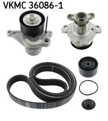Vodné čerpadlo + sada klinového remeňa SKF VKMC 36086-1 VKMC 36086-1