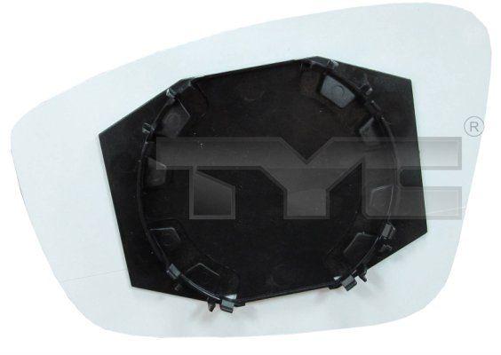 Sklo vonkajżieho zrkadla TYC 337-0222-1 337-0222-1