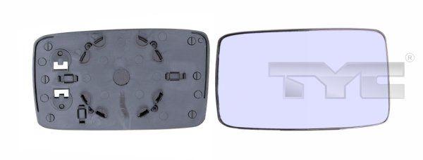 Sklo vonkajżieho zrkadla TYC 337-0003-1 337-0003-1