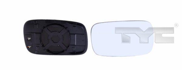 Sklo vonkajżieho zrkadla TYC 337-0033-1 337-0033-1