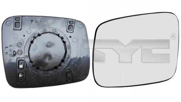 Sklo vonkajżieho zrkadla TYC 337-0088-1 337-0088-1
