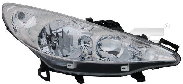 Hlavný svetlomet TYC 20-1060-05-2 20-1060-05-2