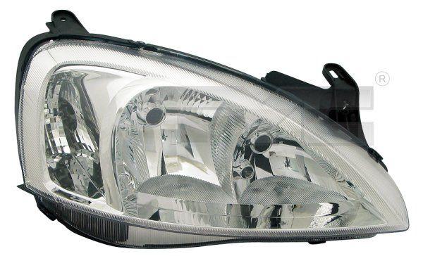 Hlavný svetlomet TYC 20-6065-25-2 20-6065-25-2