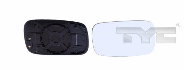 Sklo vonkajżieho zrkadla TYC 337-0110-1 337-0110-1