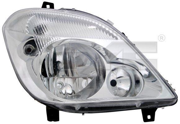 Hlavný svetlomet TYC 20-11813-25-2 20-11813-25-2