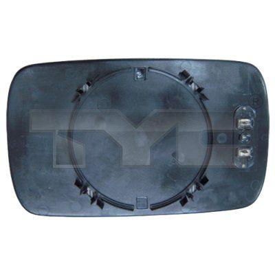 Sklo vonkajżieho zrkadla TYC 303-0001-1 303-0001-1