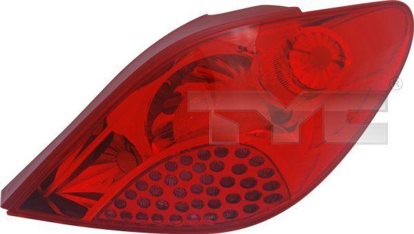 Zadné svetlo TYC 11-0998-01-2 11-0998-01-2